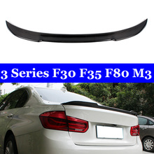 For BMW 3 Series F30 F35 F80 M3 Spoiler Carbon Fiber Material CS Style 2012 - UP 320i 328i 335i 326D Back Spoilers подвесная люстра mw light лоск 354018705