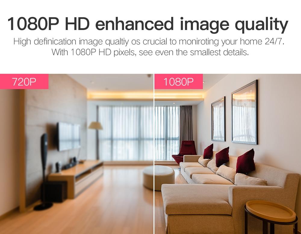 H99dac3adba2c4438ba14ff9b4bcf200e6 SDETER 1080P 720P IP Camera Security Camera WiFi Wireless CCTV Camera Surveillance IR Night Vision P2P Baby Monitor Pet Camera
