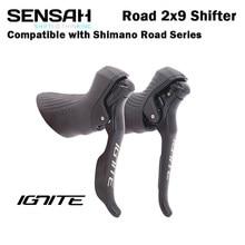 Переключатель передач для дорожного велосипеда SENSAH IGNITE 2x8 2x9 скоростной тормозной рычаг для велосипеда R7000 Tiagra Sora sensah empire pro sensah groupset