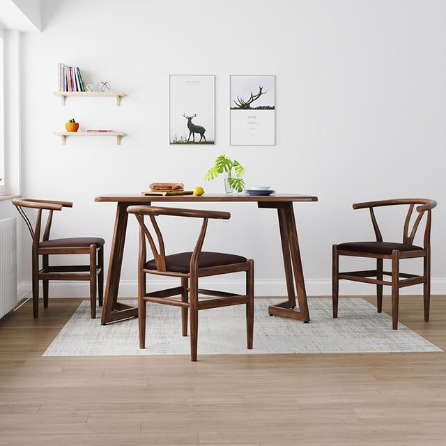 Nordic Modern Minimalist Dining Chair  5