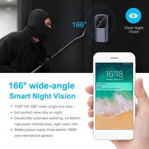 Image 3 - Zilnk Smart Home Deurbel Wifi Draadloze Video Intercom Deurbel Camera Monitor Batterij Aangedreven Afstandsbediening Ios Android