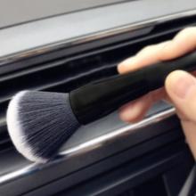 Szczotka do czyszczenia wnętrza samochodu Super miękka szczotka szczelinowa szczotka do czyszczenia samochodu deska rozdzielcza Air Vent Detailing Tool Car Styling tanie tanio KALAMENG 23cm Gąbki Tkaniny i szczotki 100g Detailing Brush 15cm CY0006 Crevice Brush