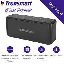 60W כוח Tronsmart מגה Pro Bluetooth 5.0 רמקול נייד רמקול משופר בס TWS טור עם NFC, IPX5, 10400mAh סוללה