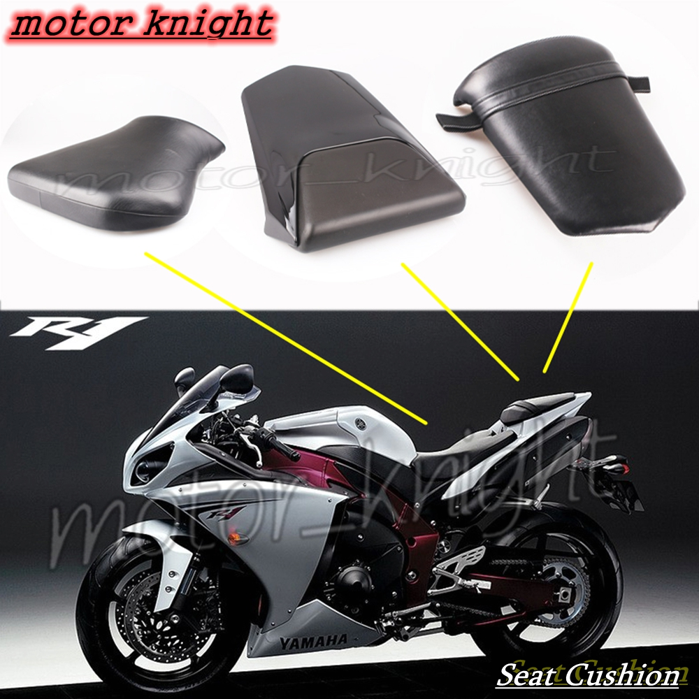 NEW Rear <font><b>Seat</b></font> Cowl fairing Passenger <font><b>Seat</b></font> Cushion Rider <font><b>Seat</b></font> <font><b>For</b></font> <font><b>YAMAHA</b></font> <font><b>R1</b></font> YZR <font><b>2000</b></font> 2001 image