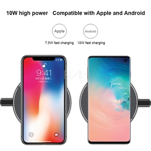 Image 3 - RZP Fast Wireless Charger For Apple iPhone Xs Max XR 8 Plus Samsung S8 S9 S10 Plus Note 9 10 Phone Charger Qi Wireless Charger