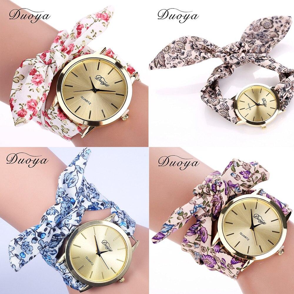 Frauen Blume Stern Bogen Armbanduhr Schal Band Party Beiläufige Uhr Relogio Feminino Montre Femme Geschenke Für Frauen Montre Femme