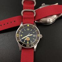 Relógio de mergulho de aço inoxidável novo masculino fiftyfathoms relógios de pulso 300 m à prova dwaterproof água seiko nh35 movimento relógios para presentes masculinos