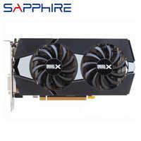 Cartes vidéo Original saphir R9 270 2GB GPU AMD Radeon R9270 2GB 256Bit cartes graphiques ordinateur de bureau carte de jeu d'ordinateur carte vidéo