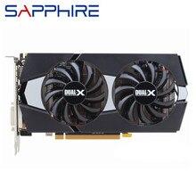 Ursprüngliche SAPHIR R9 270 2GB Video Karten GPU AMD Radeon R9270 2GB 256Bit Grafikkarten Desktop PC Computer spiel Karte Grafik