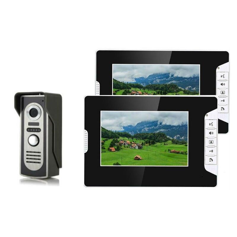 Anel SmartYIBA Visual IR Camera 1000 Linhas de TV HD Telefone Video Da Porta Intercomunicador Campainha Com Fio de Vídeo Do Sistema De Telefone Da Porta de Entrada chamada