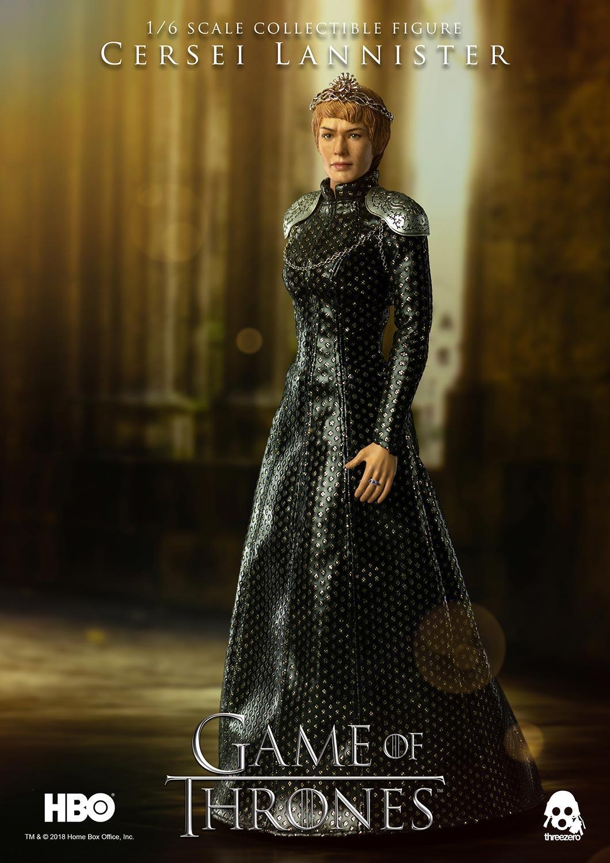 ThreeZero 3Z0064 HBO gra o tron Cersei Lannister 1/6 rysunek w Figurki i postaci od Zabawki i hobby na  Grupa 1