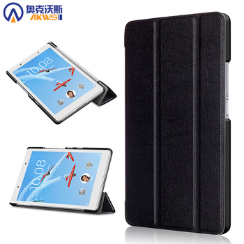 For Lenovo Tab 4 8 tablet case for Lenovo tab 4 8 TB-8504F 8504N stand PU Leather Protective cover for tab 4 8 8504N auto sleep protective flip open pu case w stand auto sleep for 8 asus fonepad 8 fe380cg red