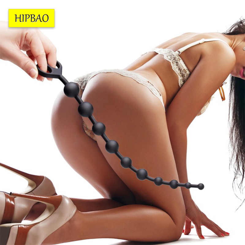 Anal Plug Butt Plug Sex Toys For Adults Soft Anal Beads Prostate Massager Erotic Anus Silicone Sex Product For Beginners
