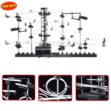 New Parts Space Rail, Funny Model Building Kit, Roller Coaster Toys, SpaceRail Level 2, DIY Spacewarp Erector Set, 233-2,5500mm utoysland diy educational toys space rail level 5 6 7 8 9 steel marble roller coaster spacerail model building kit toys gift