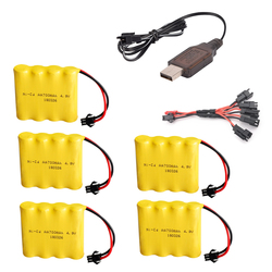 4.8v 700mah rechargeable ni-cd battery for remote control toys electric car 4.8v nicd ni cd battery pack RC boat car model toy