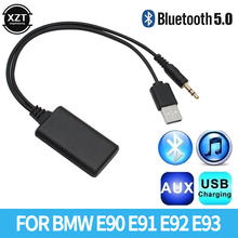 Jack-Plug Bluetooth-Adapter Music Bmw E90 Aux-Cable Car-Radio for E91 E92 E93 BT5.0