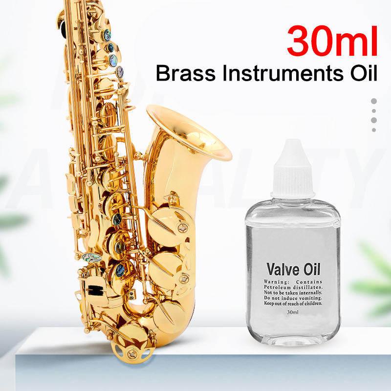 30ml Valve Lubricating Oil Smooth Switch Parts For Saxophone Clarinet Flute Trumpet Horn Brass Instruments Accessories