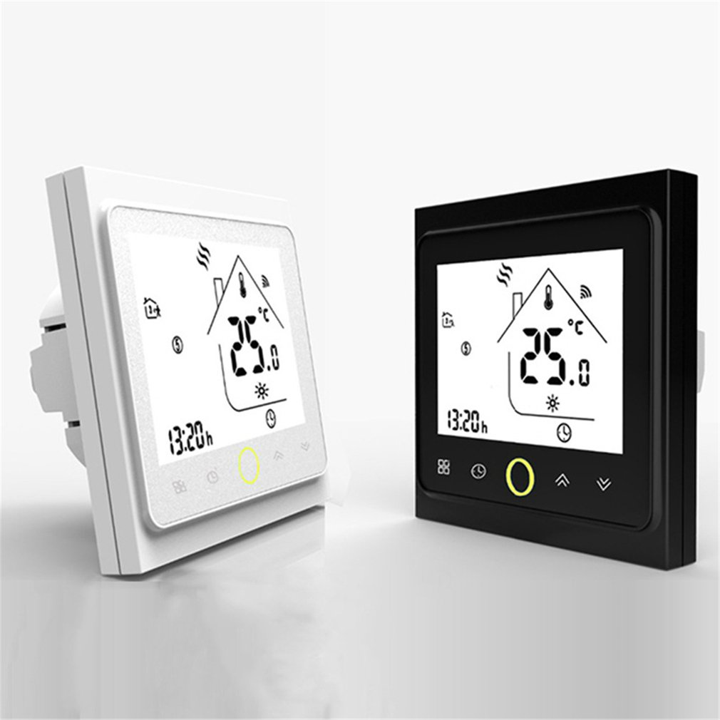 THP1002GCLW WiFi Smart Thermostat Electric Heating Temperature Controller For Gas Boiler Alexa Google Home Thermoregulator Sale