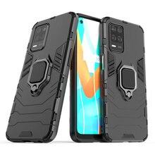 Coque De Téléphone Pour OPPO Realme Q3 HOUSSE Pour Realme Q3 Coque Arrière Antichoc Support Magnétique Pour Realme V13 Q3 Q3i Fundas