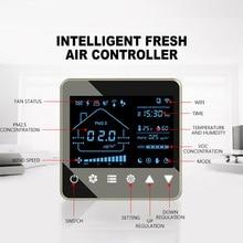 Digital display Central Ceiling Fresh Air Ventilator Exchanger Ventilation System Intelligent Cleaner Exchange Purifier