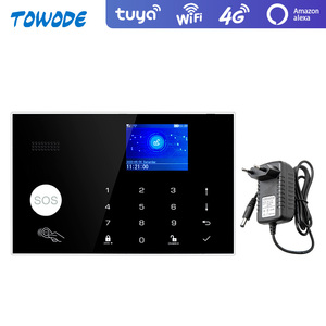 Image 2 - Towode Alarm System Kit G34 GSM WIFI 4G Tuya Wireless Security Home With Camera Motion Detector Remote Control Siren 433mhz