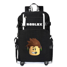 Fashion Backpacks Student Animation School Bags For Boy Girl Teenager USB Charge Computer Laptop Back pack