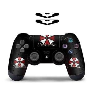 Image 3 - Serin moda 1 adet denetleyici cilt için PS4 denetleyici süslü çıkartmalar için Playstation 4 denetleyicisi için ps4 konsolu playstation 4