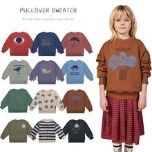 2020 Bobo Kids Sweater Girls Hoody Boys T-Shirt Boy Shirts For Girl Baby Tshirt Cartoon T Shirt Children Clothes