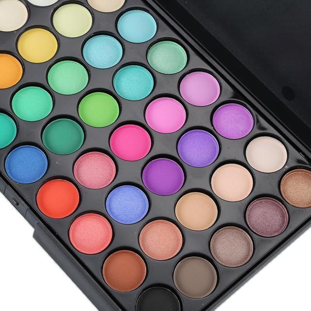 40 Colors Eyeshadow Palette New Makeup Palette Eye Primer Glitter Eye Shadow Matte Palette Makeup Cosmetics Professional