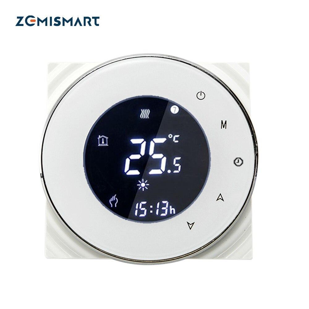 Zemismart chauffe-eau Thermostat d'ambiance Wifi régulateur de température Alexa Google accueil commande vocale