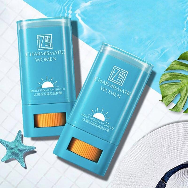 Useful Protector Facial Sunscreen Sunblock Cream Stick Crema Blanqueadora Solar Cara Oil Free Radical Scavenger Anti Oxidant Sun Cream