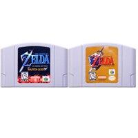 64 บิตเกม Legend of Zeld Series เกมคอนโซลการ์ดภาษาอังกฤษรุ่น US สำหรับ Nintendo