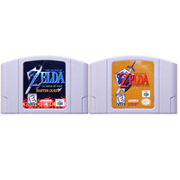 """64 קצת משחק אגדה של Zeld סדרת וידאו משחק מחסנית קונסולת כרטיס אנגלית שפה בארה""""ב גרסה עבור Nintendo"""