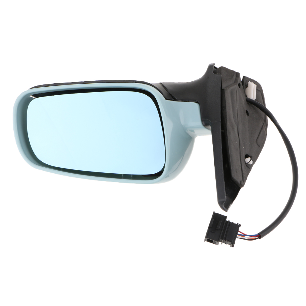 Car Right Side Door Mirror Electric Heated Wing Mirror Adjustable Glass For VW Golf 4 1999 2004 Bora 1999 2004 Car Accessories|Mirror & Covers| |  - title=