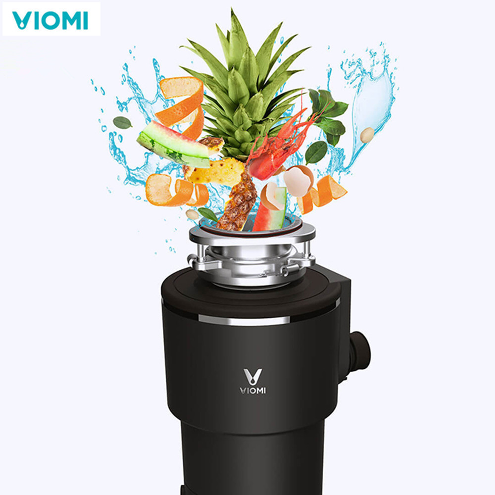VIOMI Kitchen Waste Processor disposal crusher food waste disposer 1290ml Wireless Switch Control Kitchen Appliance Home