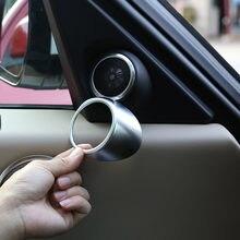 Dla Land Rover Range Rover Vogue 18-20 Car Styling ABS chrome głośnik do samochodowego systemu Audio tweetery róg pierścień naklejki wykończeniowe akcesoria samochodowe