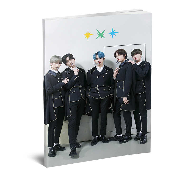 Kpop TXT 2020 SEASON'S GREETINGS Mini Photo Book Beomgyu Taehyun ภาพ Hueningkai ภาพ HD