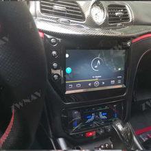 Autoradio A/C pour Maserati GT/GC GranTurismo, noir ou fibre de carbone, lecteur multimédia, stéréo, GPS, 2007 – 2017
