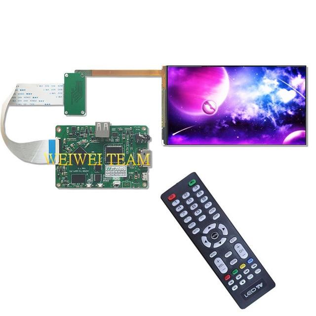 5.9 بوصة FHD شاشة الكريستال السائل 1920X1080 شاشة لوحة HDMI إلى MIPI تحكم مجلس للتلفزيون مربع كاميرا التكيف تدوير المتسلق الروبوت
