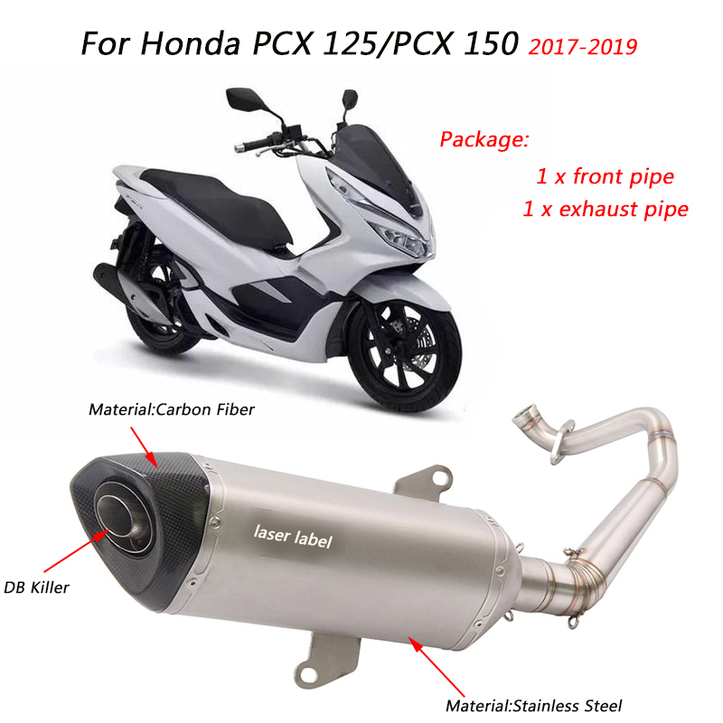 CARBON AIR CLEANER FILTER INTAKE FOR ALL NEW HONDA PCX 150 2014-2017