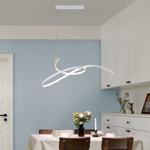neo brilho moderno led lustre para sala