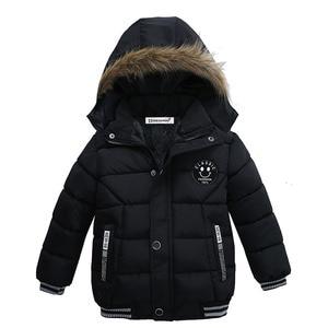 Зимняя одежда для мальчиков, куртки с капюшоном для маленьких мальчиков, куртки для девочек, верхняя одежда, детская куртка для малышей, вет...