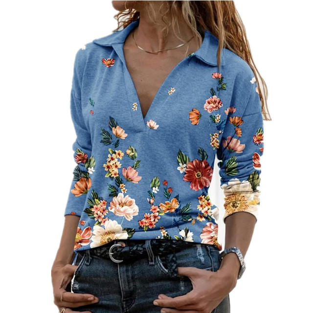Aprmhisy Graphic Shirts Women Autumn New Long Sleeve Casual Streetwear Blouse Shirt Blusas Femininas 5