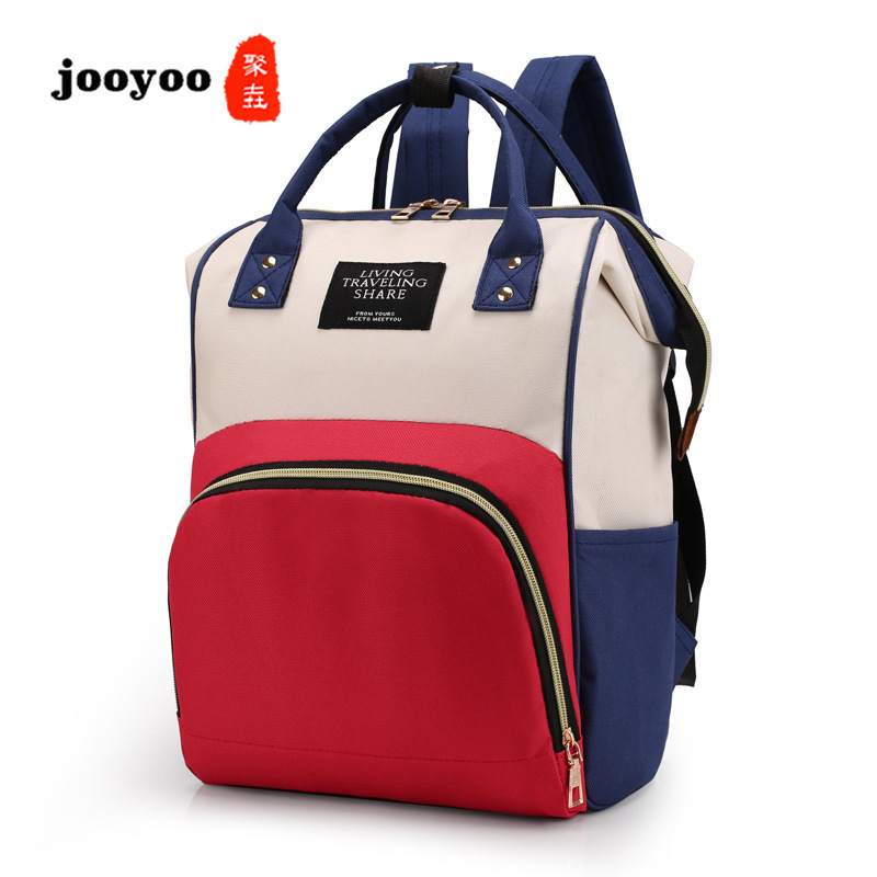 Diaper Bags Large Capacity Mummy Maternity Baby Bag Multifunctional Nursing Bag Backpack Baby Care Mom Convenient Bag Travel Bag