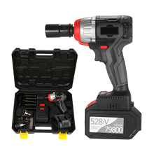 Impact-Wrench Torque Brushless-Motor Cordless Drill-Chuck Multifunction 980nm with Key-Type