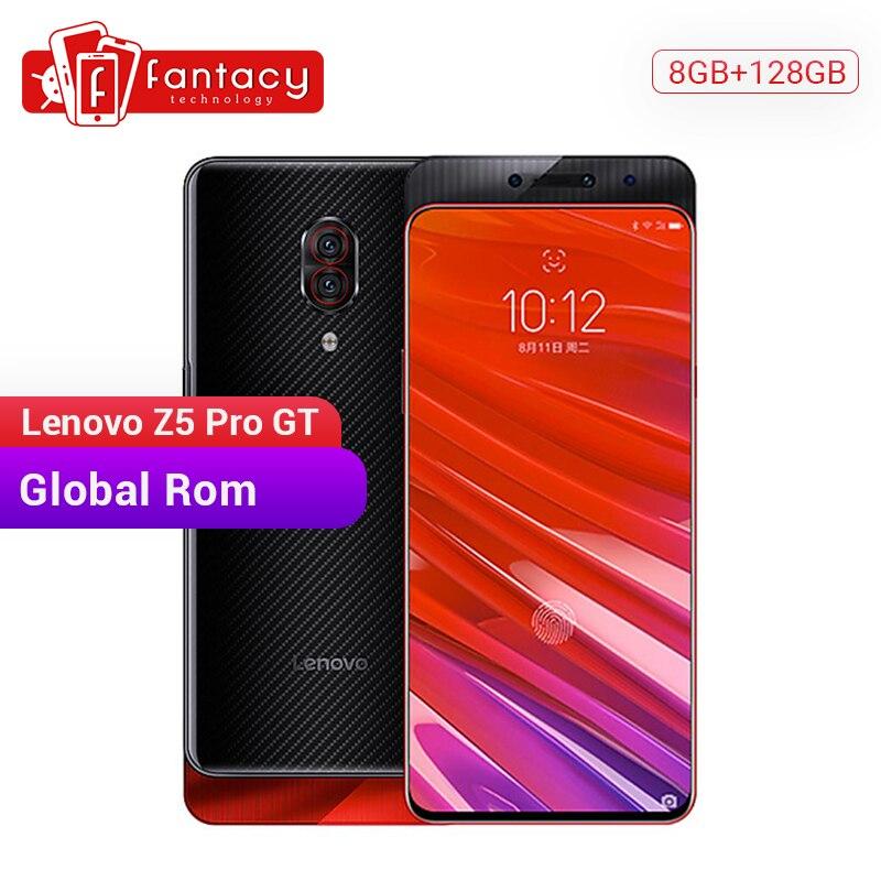 Global ROM Lenovo Z5 Pro GT Snapdragon 855 Smartphone 8GB RAM 128GB ROM 6.39'' In-Screen Fingerprint Android 24MP Cameras