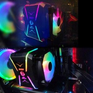 Image 5 - مبرد وحدة المعالجة المركزية للجدار العظيم RGB 90 مللي متر PWM مروحة التبريد إنتل LGA1150 1151 1155 1156 775 AMD AM3 AM4 برودة RGB وحدة المعالجة المركزية برودة للكمبيوتر
