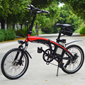 Elektrische fiets mini opvouwbare elektrische fiets aluminium e fiets lithium batterij stad ebike 20 inch 48V 250w e fiets