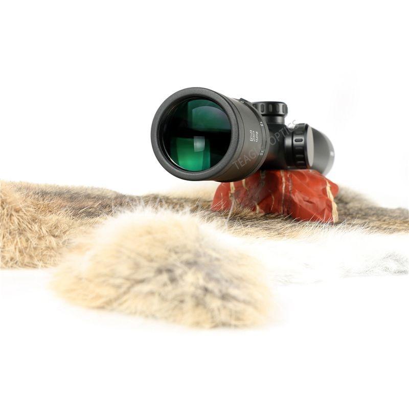 Hunting Optic 3 15X42 Long Range Riflescope Side Wheel Parallax Optic Sight Rifle Scope Hunting Scopes Sniper Luneta Para Rifle in Riflescopes from Sports Entertainment