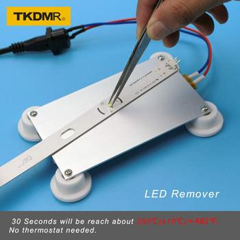TKDMR 300W Aluminum LED Remover PTC Heating Plate Soldering Chip Remove Weld BGA Solder Ball Station Split Plate new ac 220v aluminum led remover ptc heating plate soldering chip remove weld bga solder ball station split plate